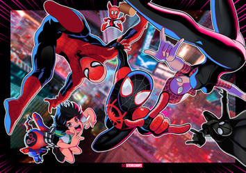 Into the Spiderverse by SteveChopz