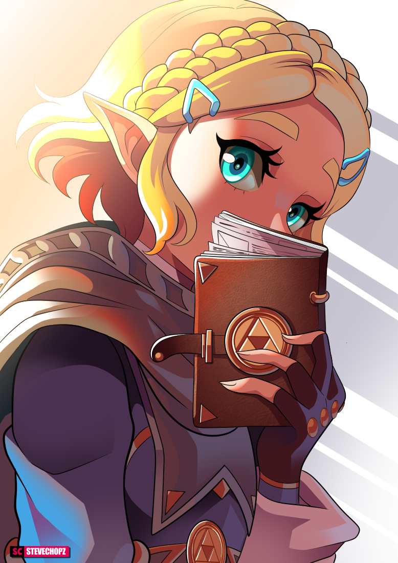 Short Hair Zelda By Stevechopz On Deviantart
