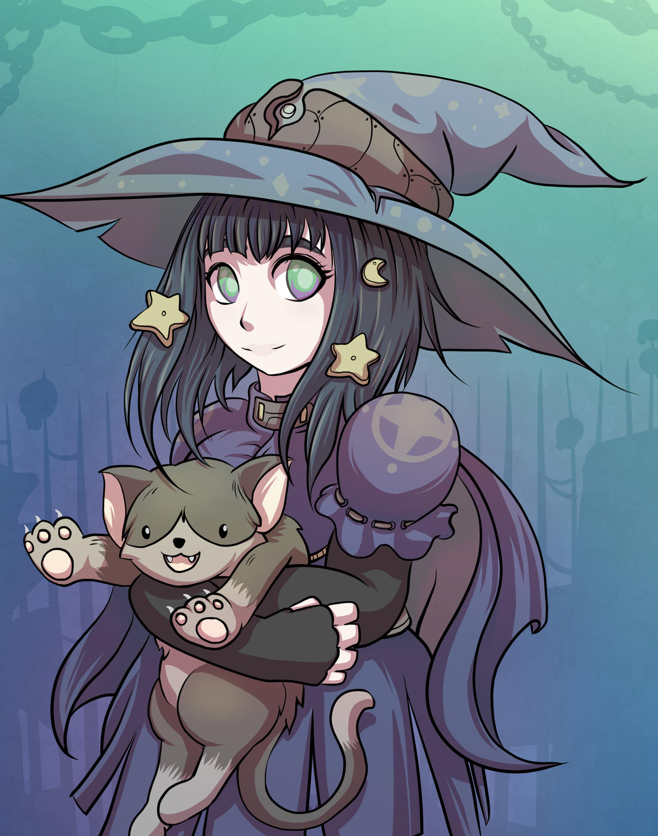 Star Witch by mogstomp