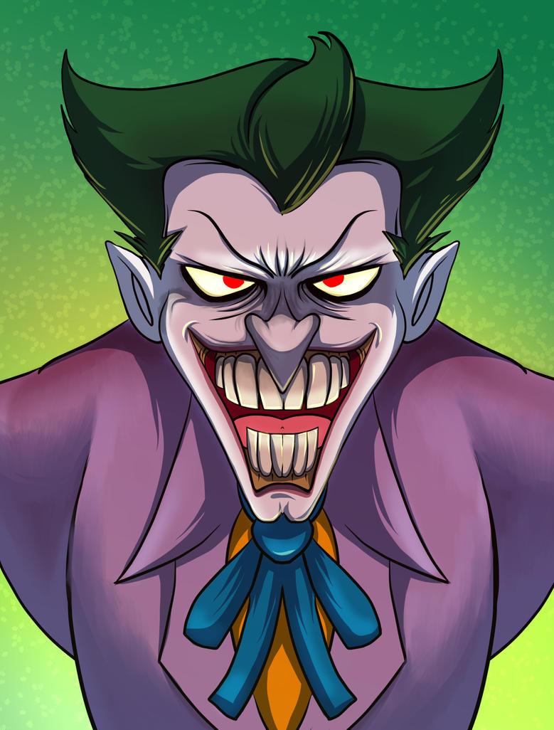 Joker by mogstomp