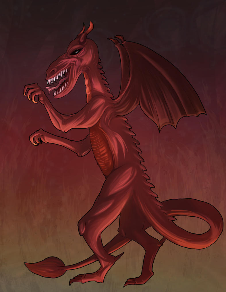 Dragon of Jacques by mogstomp