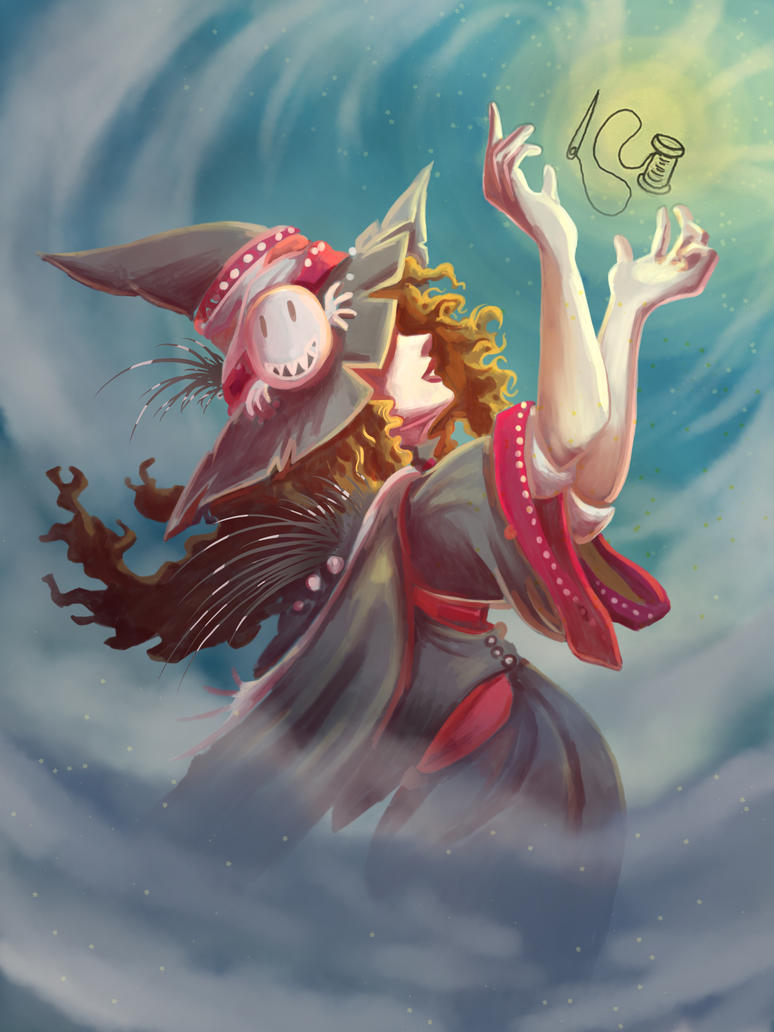 Quill Witch by mogstomp