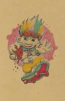 Rad Troll by mogstomp