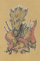 Drag Xenomorph Queen by mogstomp