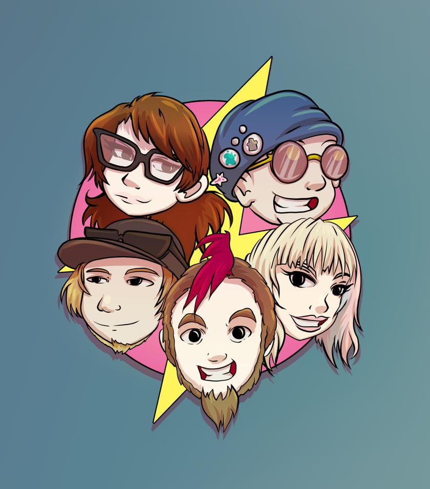 Thunder Geeks by mogstomp