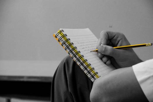 I write what I feel