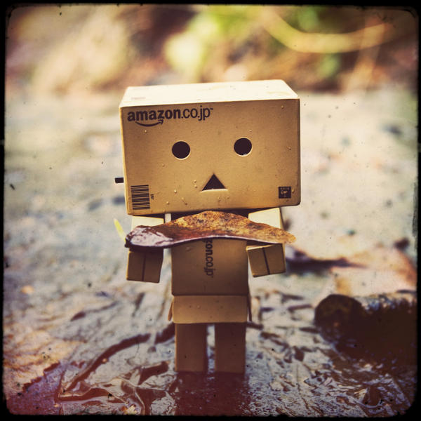 Danbo finds something strange by LadySleepsAlot