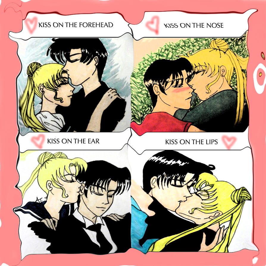 Kiss Meme-Usagi X Mamoru By Captaintorrez On Deviantart-6341
