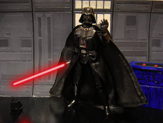 Darth Vader model kit 2