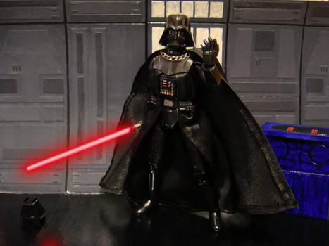 Darth Vader model kit 2