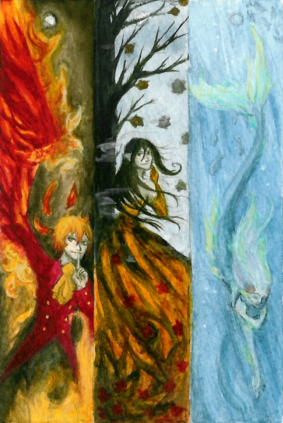 Bookmarks - fantasy by PhantomTeacup