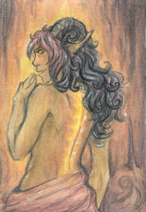 Share Your Finished Illustrations! - Page 5 Atc__rylie__dream_scar__by_phantomteacup-d7yz3so