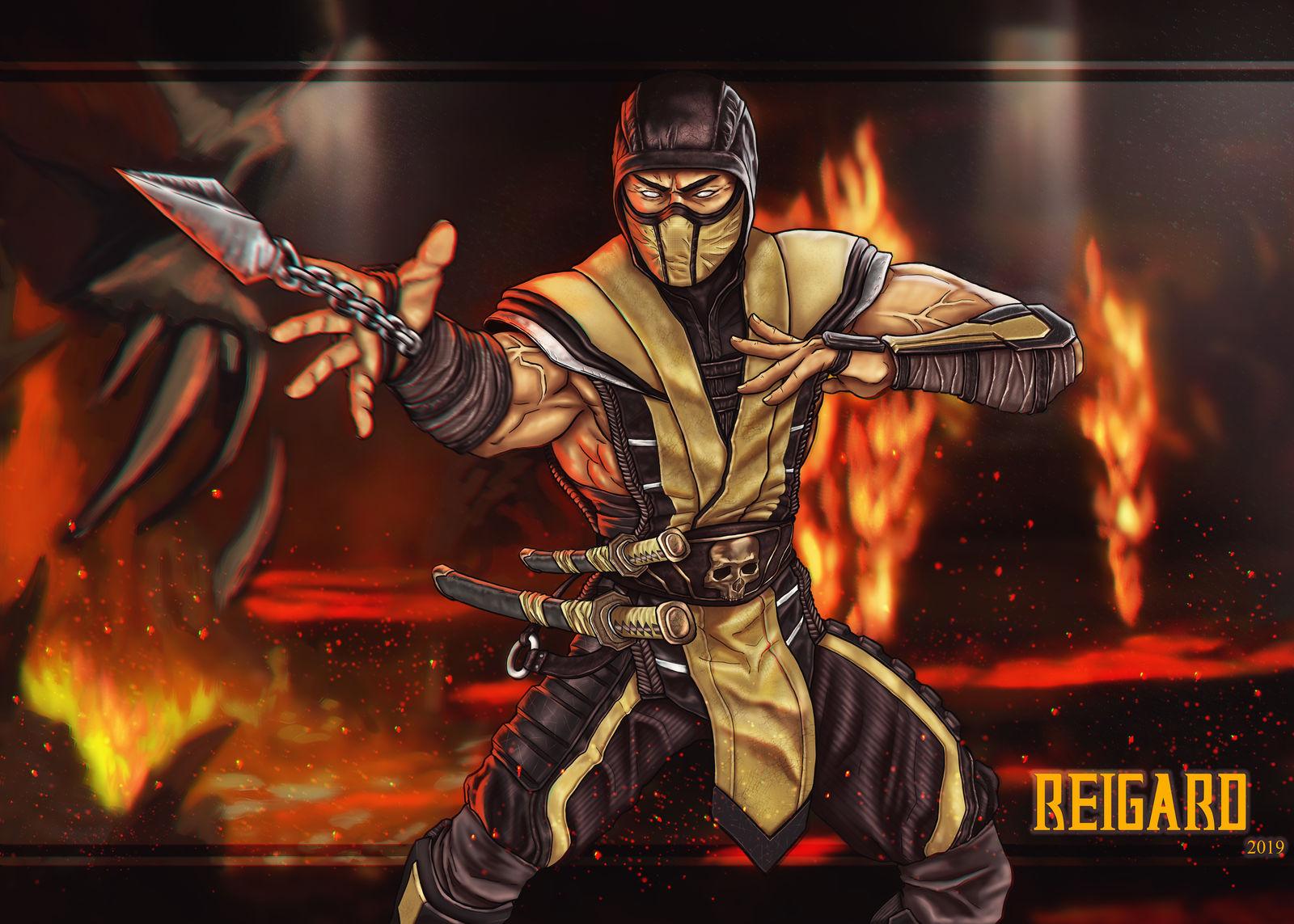 Scorpion Mortal Kombat 11 By Reigard88 On Deviantart