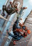 Insomniac's Spider-Men Colored
