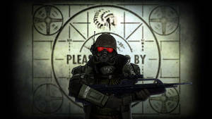 Fallout RiotGear Wallpaper