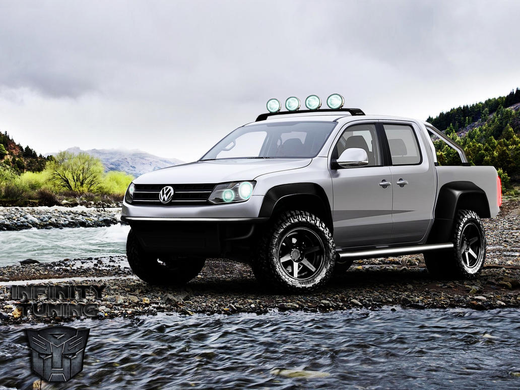volkswagen amarok off road by mrinfinity111 on deviantart. Black Bedroom Furniture Sets. Home Design Ideas