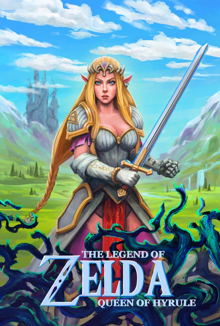 The Legend of Zelda: Queen of Hyrule by sid-vlad