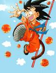 Kid- Goku Dragon Ball by imminentprodigy