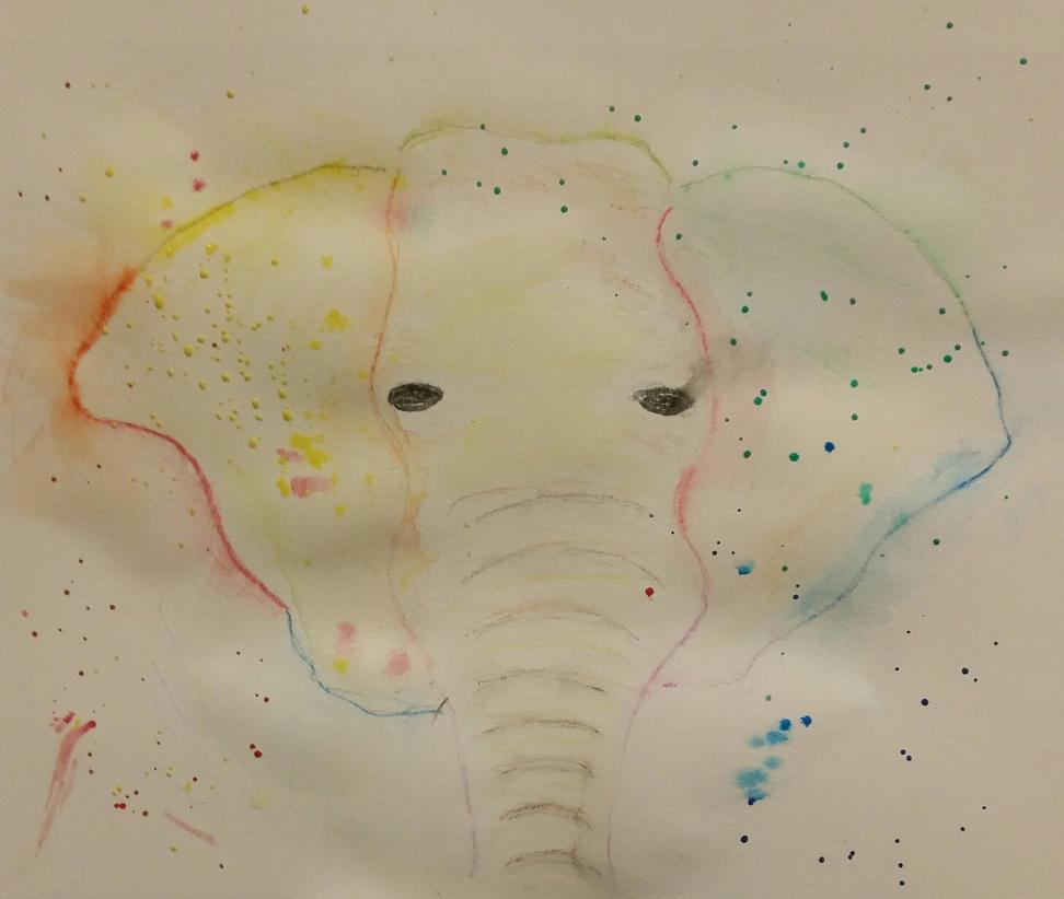 Elephant by Literateparakeet