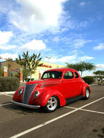 Classy Red HotRod by Swanee3