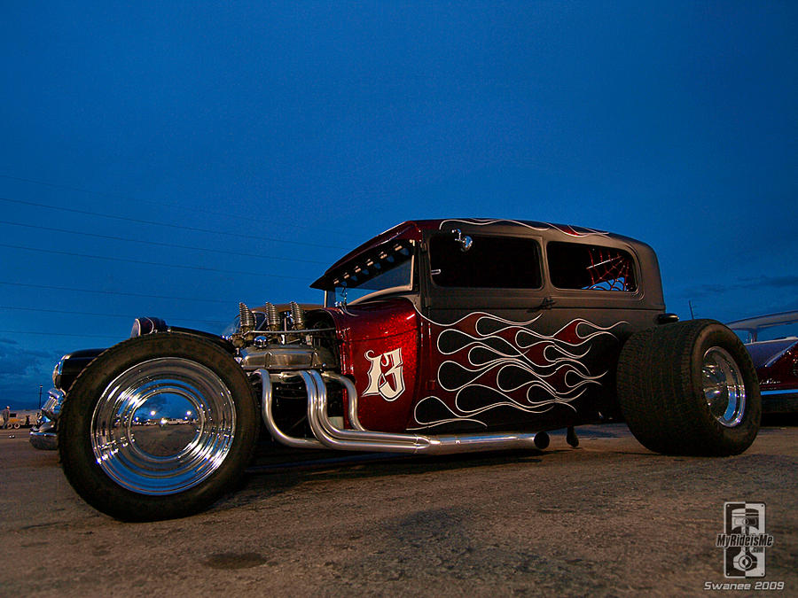 Bad News Hot Rod by Swanee3