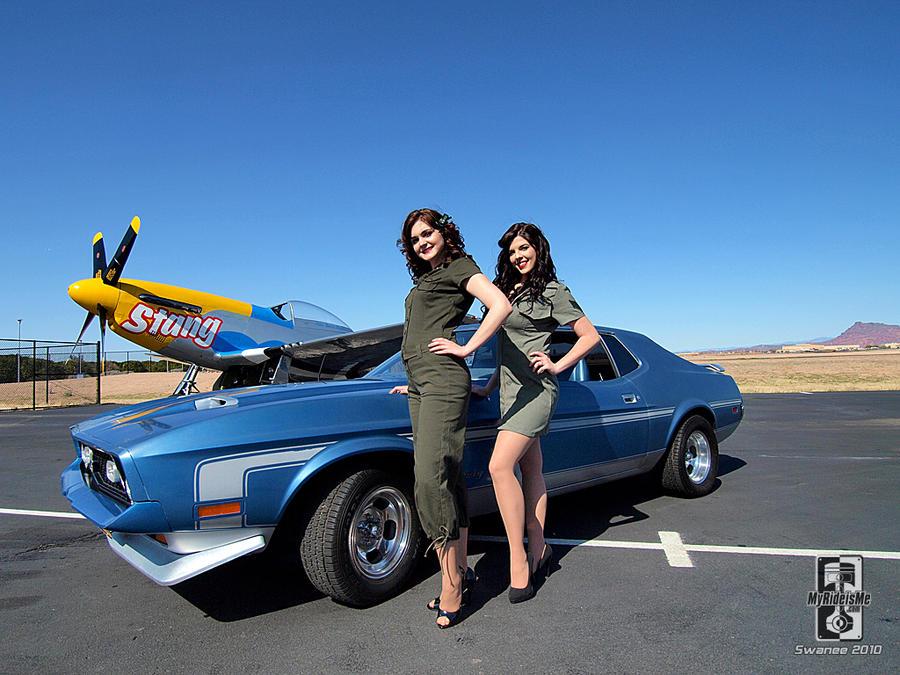 Mustang hotties