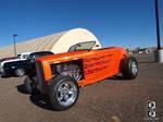 Hot Orange Roadster