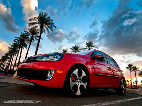 Red GTI