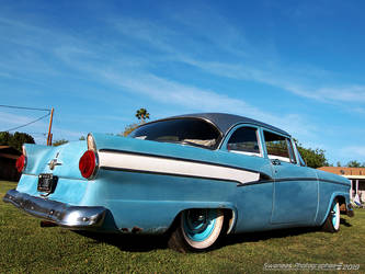 Rustic Blue Suede Ford by Swanee3