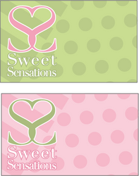 Sweet Sensations Logo and Card