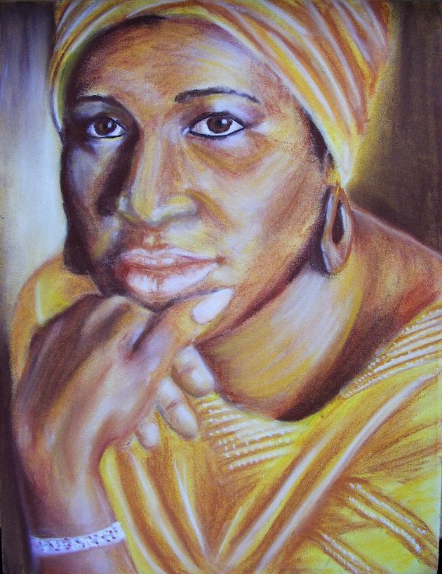 Aretha Franklin by ZapachZielonejTrawy