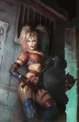 Harley Quinn by SunKhamunaki