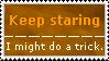 Stamp: Keep staring