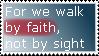 Stamp: Faith