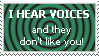 Stamp: Voices