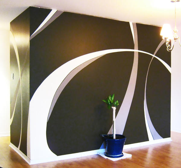 Wall paint design by saadcreative on deviantart for Wall design with paint