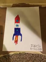 Inktober #16: Rocket (Late) (DBaN#188)