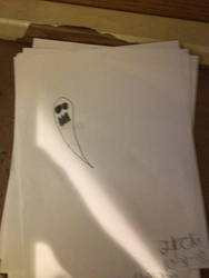 Drawtober #23: Ghost (Late) (DBaN#229)
