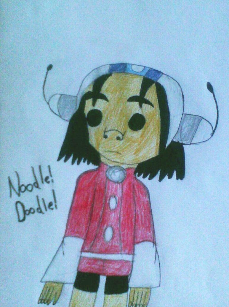 Noodle Doodle by MC-Gemstone