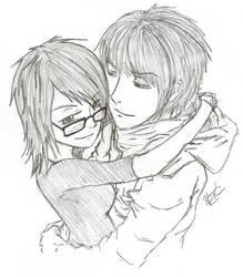 Couple Sketch by el-armo