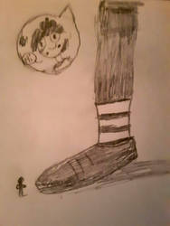 Le Cutie's Cute Shoes Drawing #2 by furstman