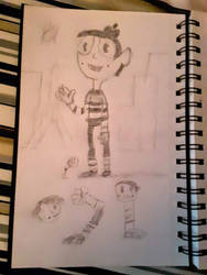 Le Cutie Tavels to Paris #Drawing 1 by furstman