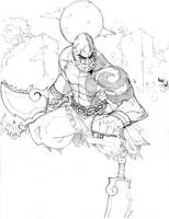 kratos 2 by charlessimpson