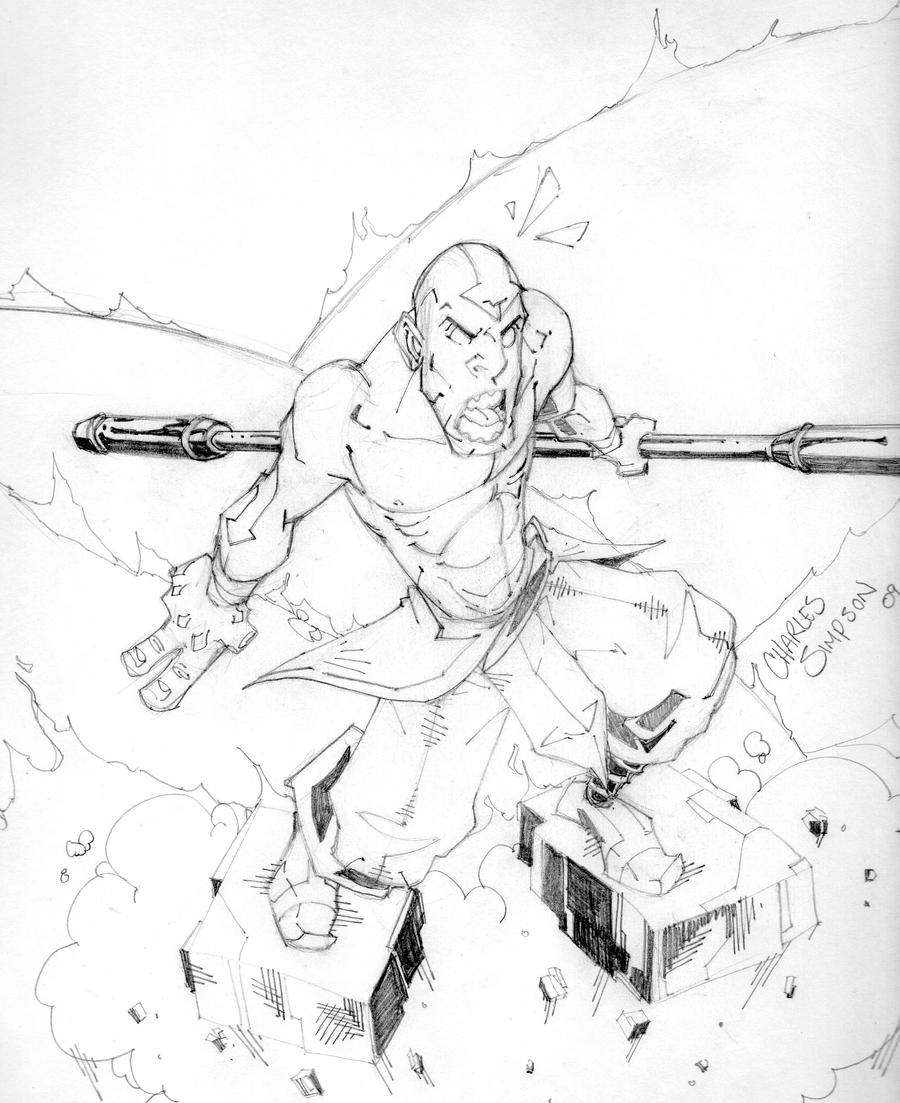 Avatar Aang Drawings: Avatar Aang By Charlessimpson On DeviantArt