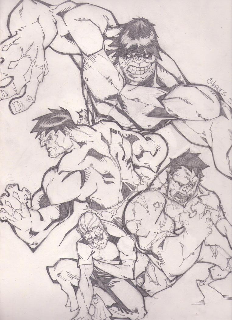 Hulk Transformation 2008 Hulk transformation by
