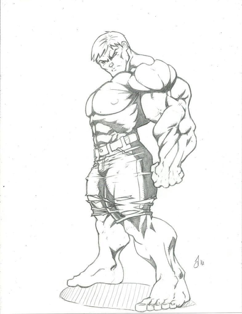 Hulk by vagrantmidget