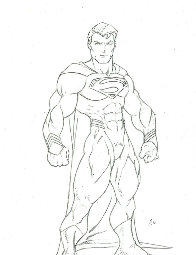 Superman by vagrantmidget