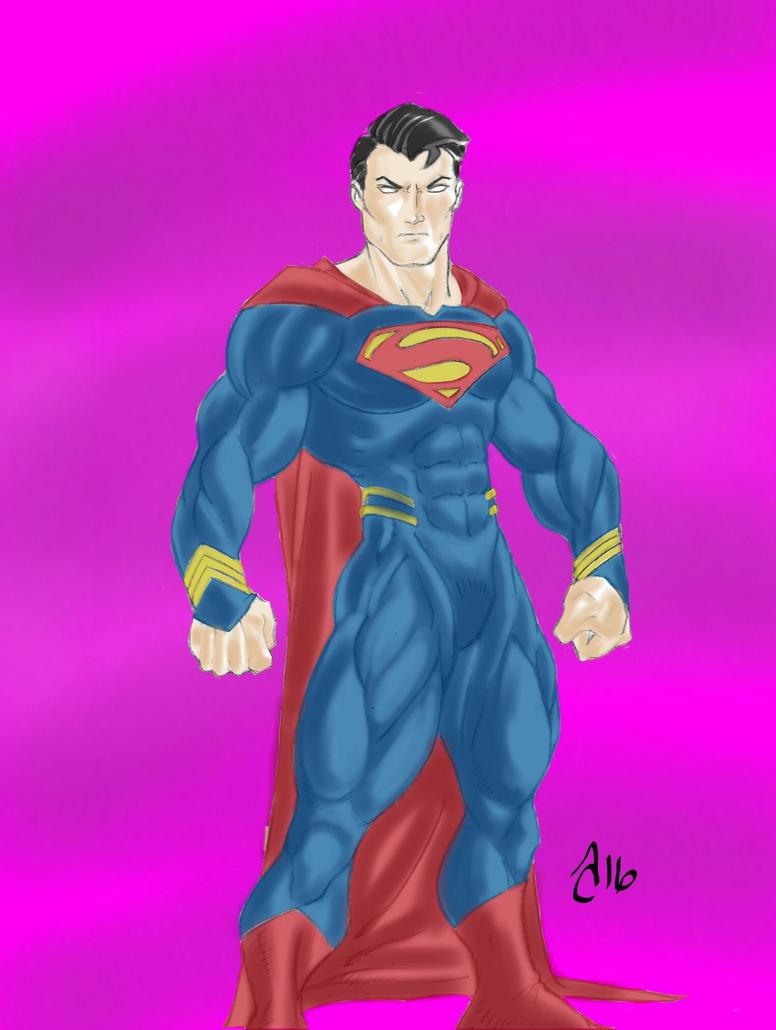 superman (colors) by vagrantmidget