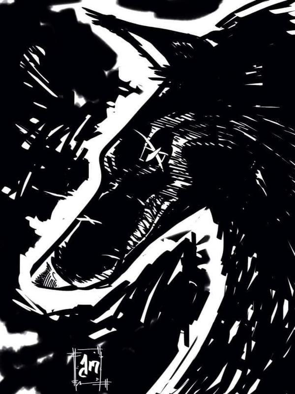 werewolf scar by vagrantmidget