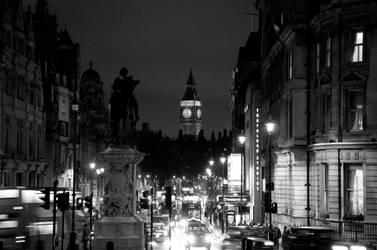 Whitehall at Night by Gremlich